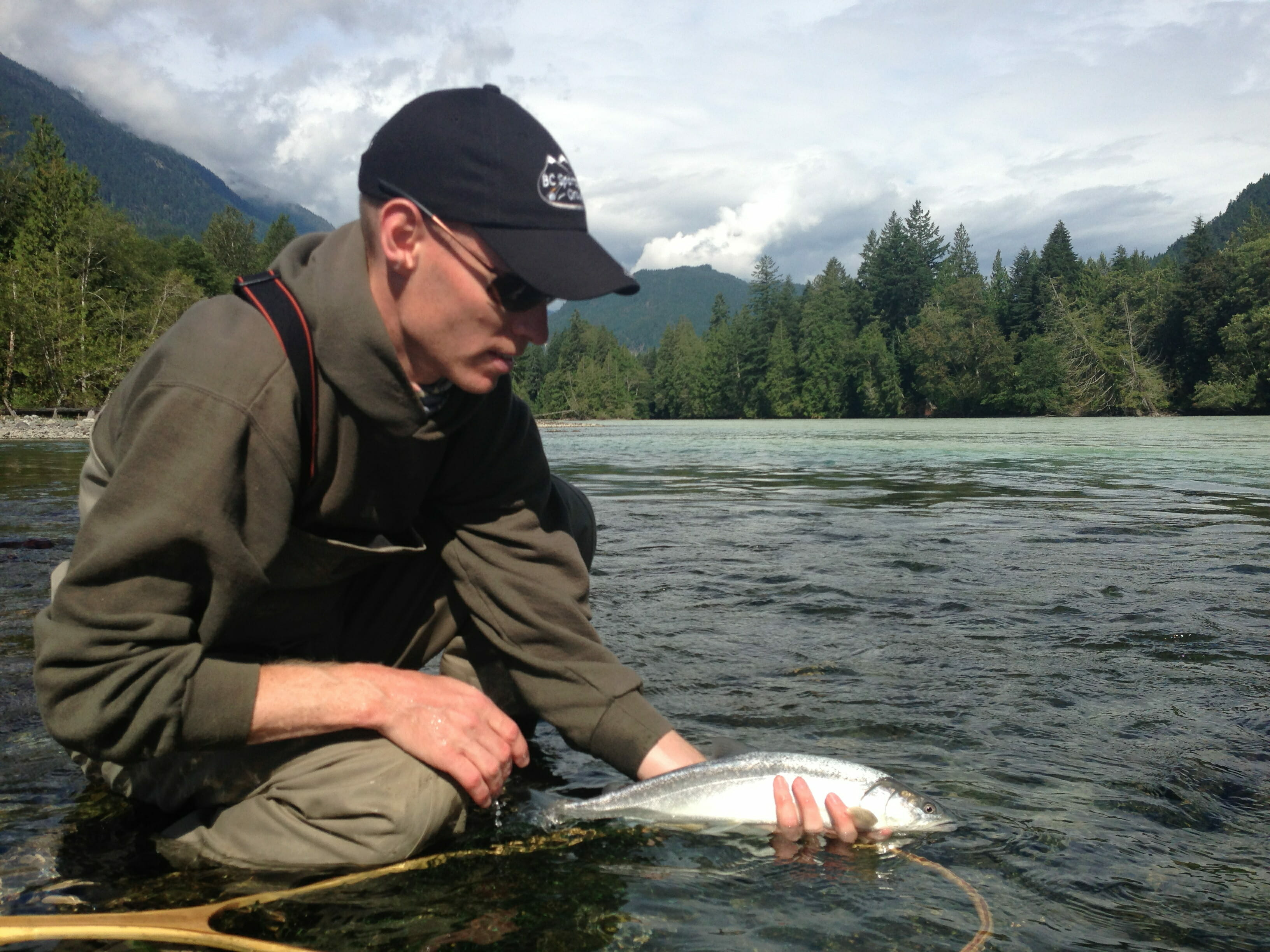 Walk and Wade tour with BC Sportsfishing Group
